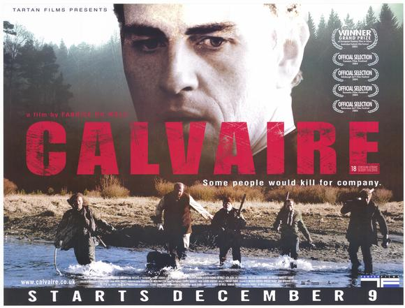 the ordeal/calvaire, 2004, film poster