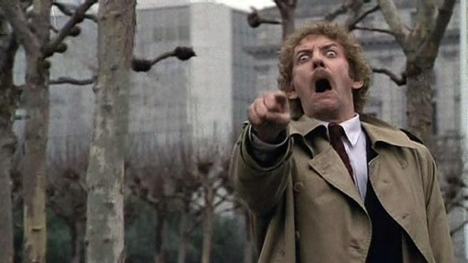 invasion of the body snatchers, 1978, remake, donald sutherland, pod, sci fi, horror