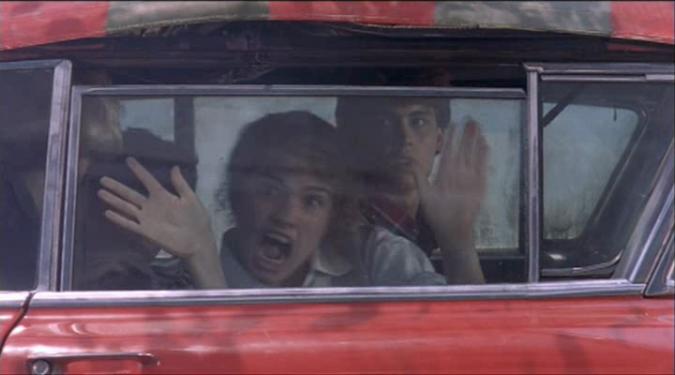 nightmare on elm street, freddy car, freddy krueger, johnny depp, wes craven, heather langenkamp, ending, final scene