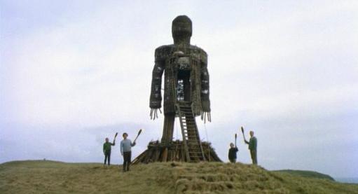 wicker man, 1973, British horror, Christopher lee, Edward woodward, robin hardy, pagan horror, classic horror, 70s horror