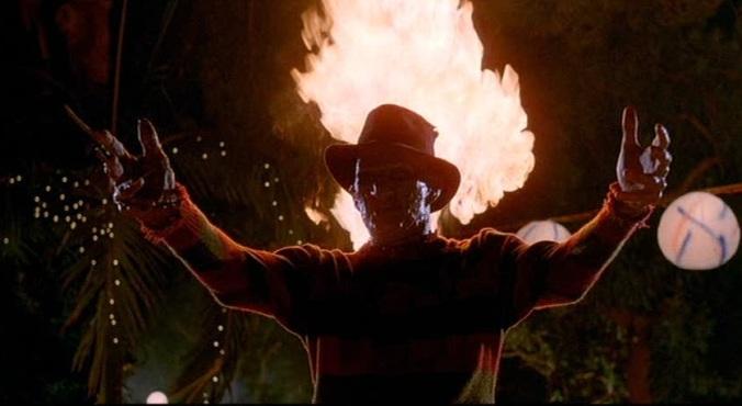 Robert Englund as Freddy in A Nightmare On Elm Street Part 2: Freddy's Revenge