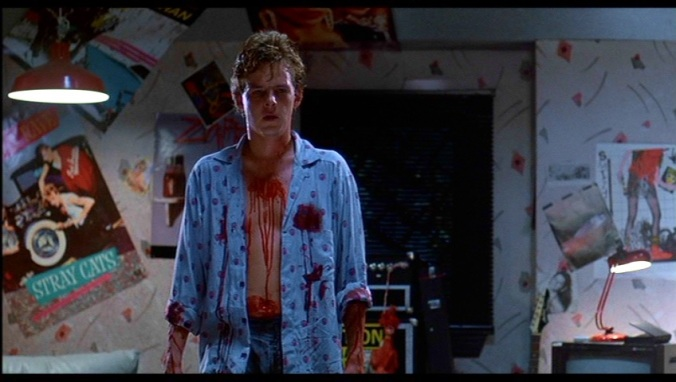 Jesse (Mark Patton) in  A Nightmare On Elm Street Part 2: Freddy's Revenge