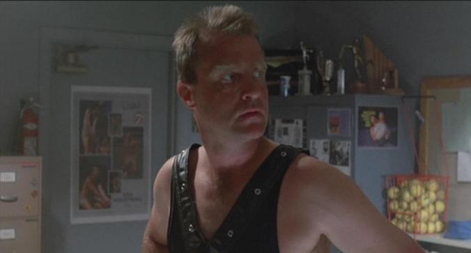 Coach Schneider (Marshall Bell) in A Nightmare On Elm Street Part 2: Freddy's Revenge