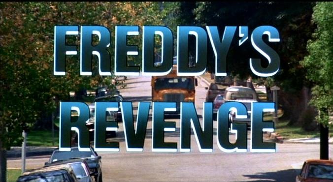 A Nightmare On Elm Street Part 2: Freddy's Revenge Title Card