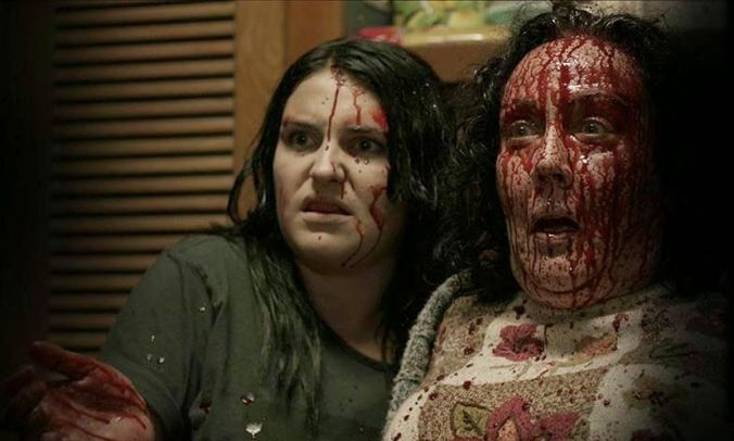 Kylie and Miriam in Housebound